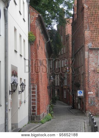 Narrow Lubeck Street