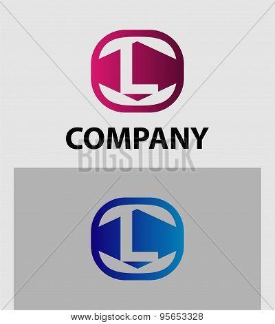 Letter L logo / symbol - vector icon