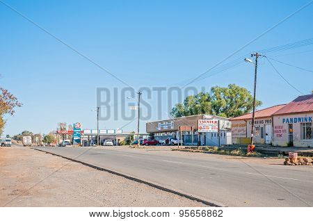 Street Scene In Reddersburg