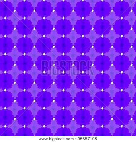 Violet Cosmos Seamless Pattern Background