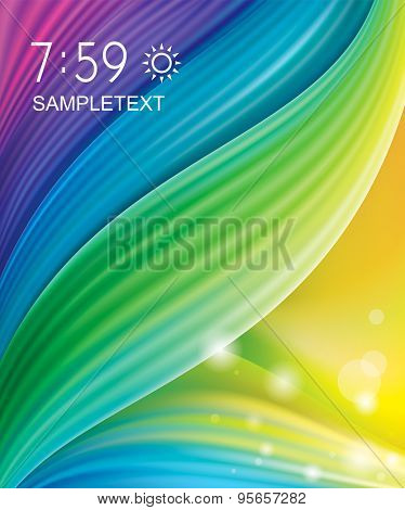 Abstract color background.