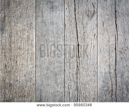 Old dirty wooden wall for Background Texture