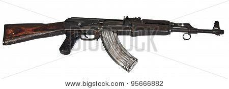 soldiers ak47 gun
