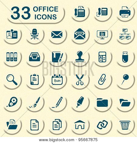 Jeans office icons