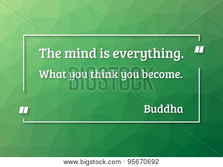 Buddha Quote Motivation Poster