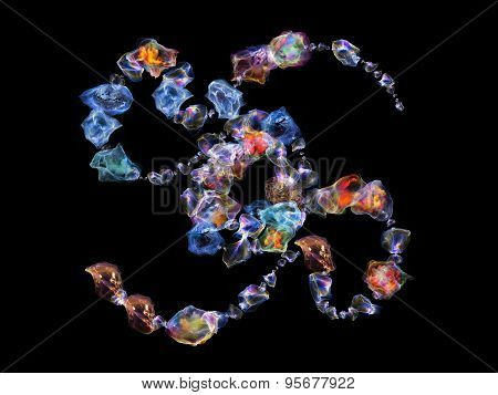 Jewels Abstraction