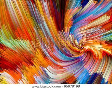 Color Vortex Background