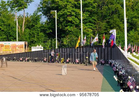 Vietnam Wall Replica