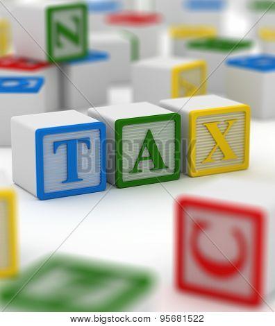 Colorful Box - Tax