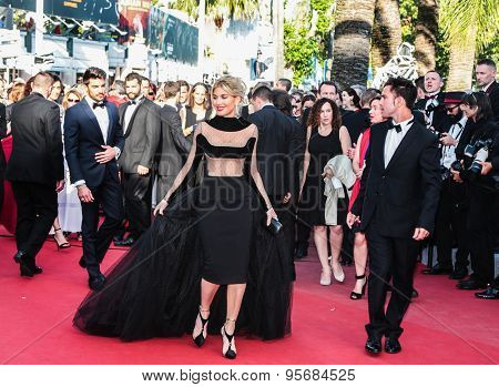 Hofit Golan attends the 'Carol' Premiere during the 68th annual Cannes Film Festival on May 17, 2015 in Cannes, France.
