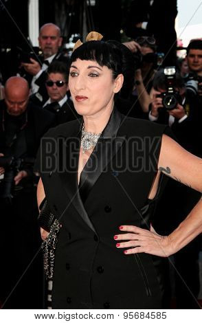 Rossy de Palma attends the 'Carol' premiere during the 68th annual Cannes Film Festival on May 17, 2015 in Cannes, France.