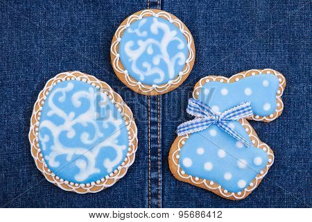 Vintage Easter traditional Gingerbread cookies