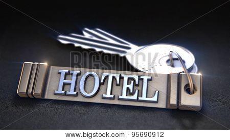 Hotel keys Concept
