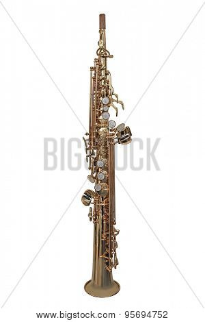 oboe isolated under the white background