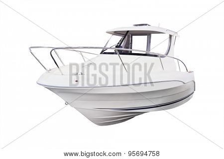 The image of motor passenger boat
