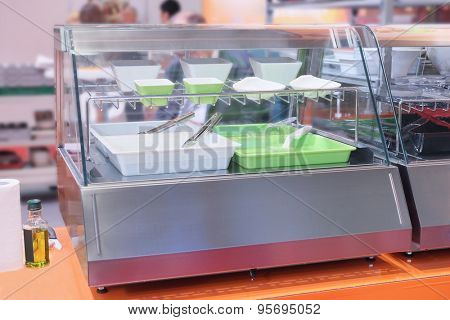 The image of a showcase