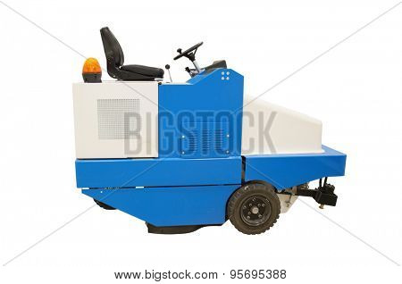 the image of a floor cleaning machine