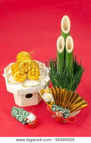 Japanese new year decorations