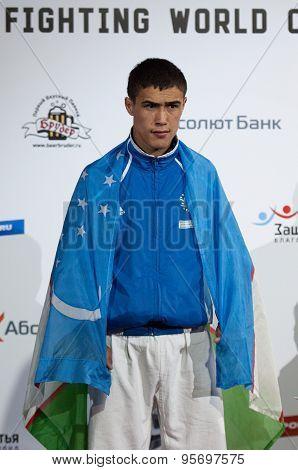 Shakboz Tursunov, Gold Medalist