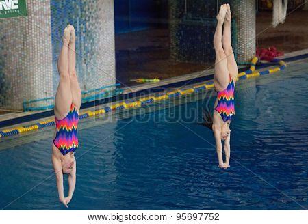 N. Aminieva And G. Sitnikova Jump