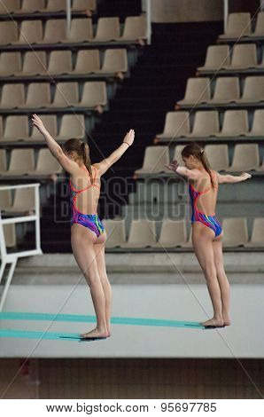 Natalia Aminieva And Galina Sitnikova