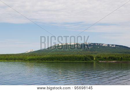 National Park Zyuratkul. Russia