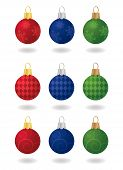 Festive Christmas Ornaments