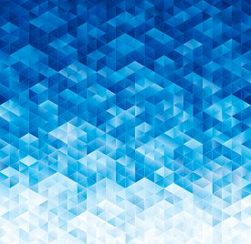 picture of parallelepiped  - Abstract geometric blue texture background - JPG