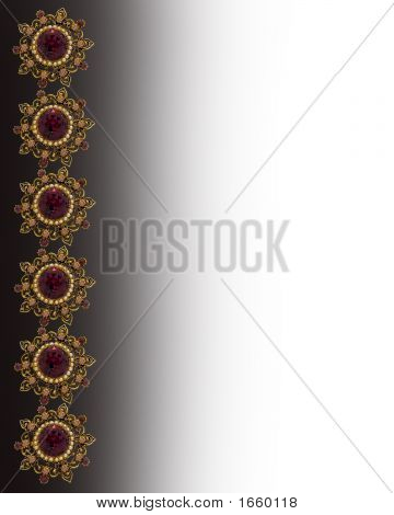Jeweled Border 2