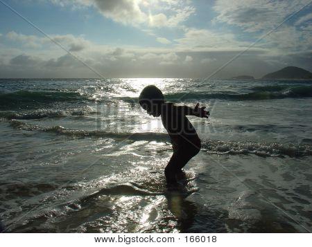 Kid In Silhouette