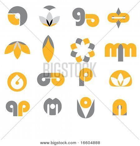 logos design set 1