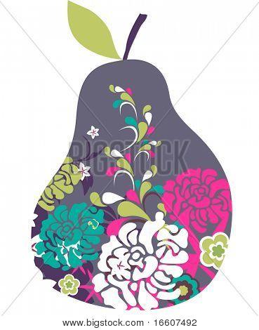 a cute pear design