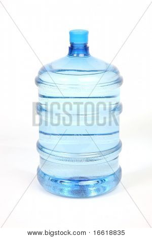 a close up shot of a water bottle