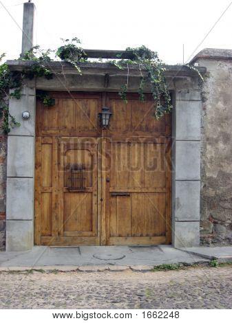 Door To The Courtyard
