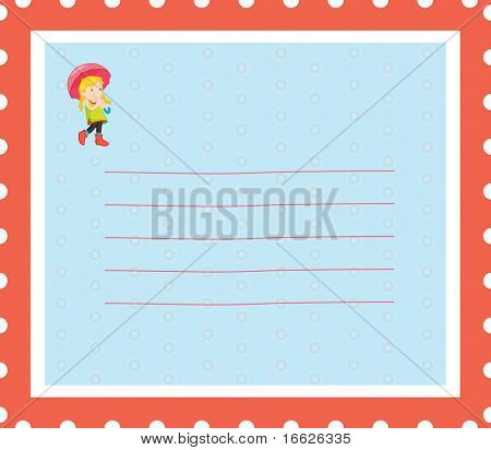 blank postcard (vector image also available in portfolio)