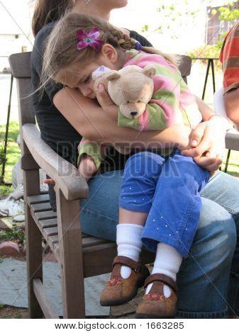 Girl With Teddy-Bear