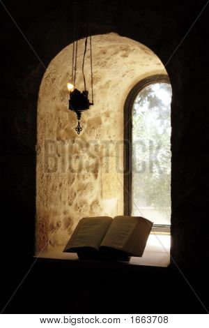 Window And Bible