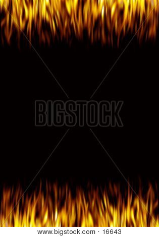 Picture or Photo of Abstract flame background