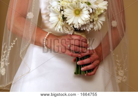 Bride Flowers Ring