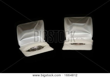 Wedding Rings And Boxes