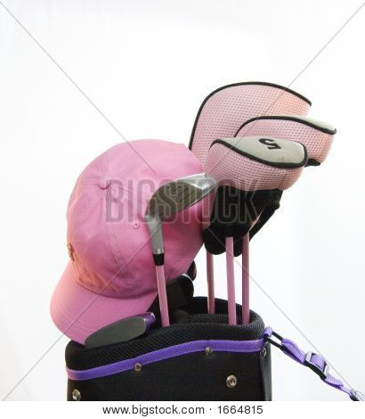 Ladys Pink Golf Clubs