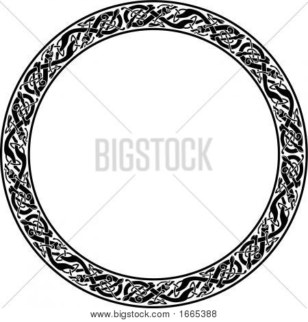 Vector_Circle_Celtic_Dog.Eps