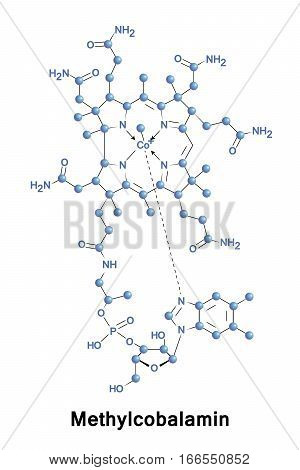 Methylcobalamin Cobalamin, Form Vector & Photo | Bigstock