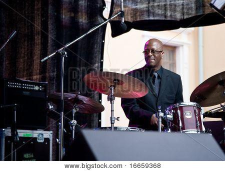 ARKHANGELSKOE - JUNE 7: Donald Edwards. 6th International Jazz Festival USADBA.JAZZ , June 7, 2009 in Arkhangelskoe, Russia