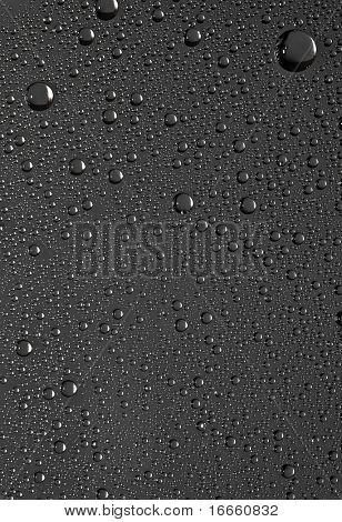 Water drops on the glass. Nature collection.