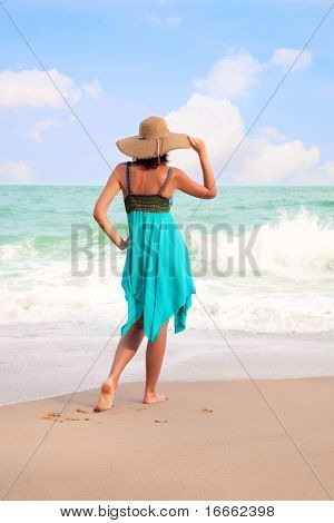Beautiful Woman on the beach