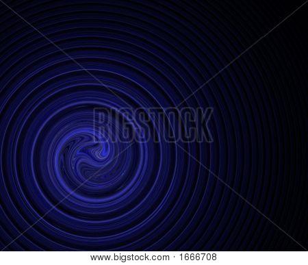 Swirl Blue Corner