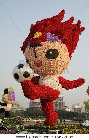 mascota para los Juegos Olímpicos de 2008