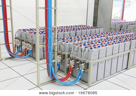 The storage battery for switchboard of cellular communication