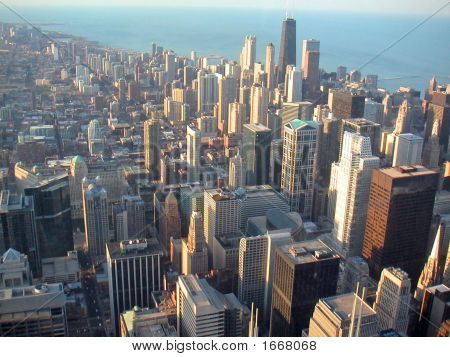 66 Il Chicago From Sears Tower